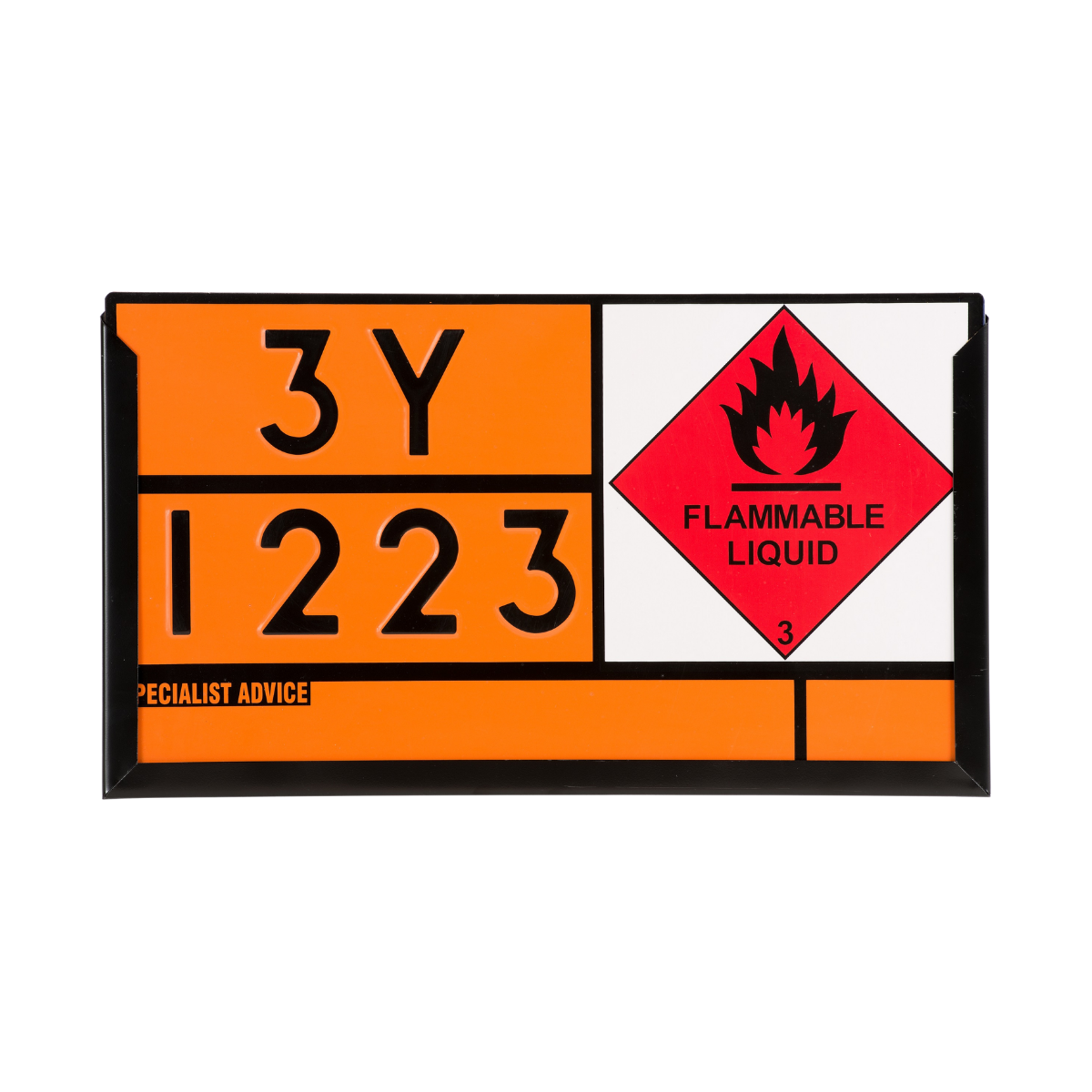 VS0100_Hazchem ADR Placard Panel Holder 700 x 400mm
