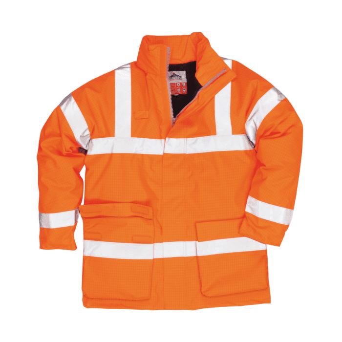 AS0778_FR AS Hi-Vis Contractors Traffic Jacket_Orange
