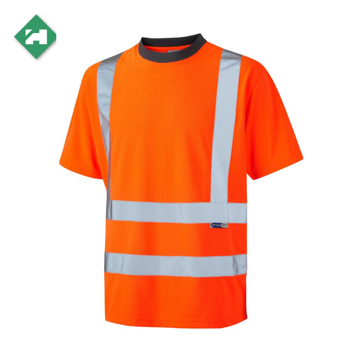 HV0070_EcoViz Polyester T-Shirt_Orange